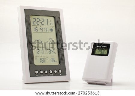 Weather forecast equipment - stock photo