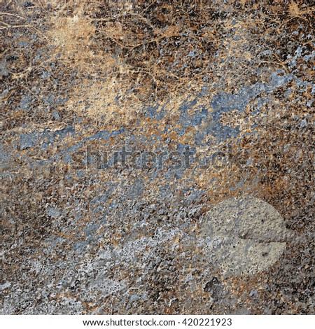 Weathered abstract wall - stock photo