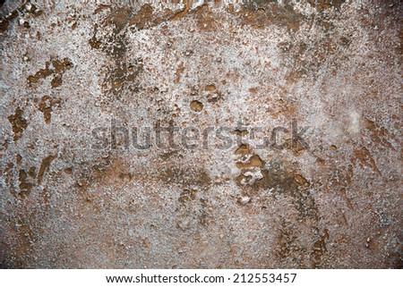weathered iron/rusty steel texture - stock photo