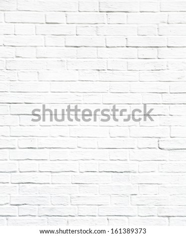 Weathered texture of stained old dark white and gray brick wall background, grungy rusty blocks of light stone-work technology, colorful horizontal architecture - stock photo