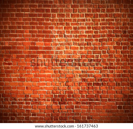 Weathered texture of stained old dark white and red brick wall background, grungy rusty blocks of stone-work technology, colorful horizontal architecture - stock photo