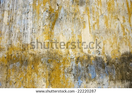 weathered wall - stock photo