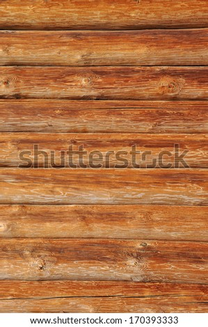 Weathered wooden logs with natural pattern background. - stock photo