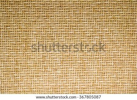 weave texture background warm tone - stock photo