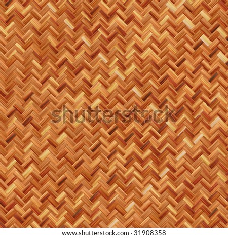 weave texture in warm brown (seamless tiling) - stock photo