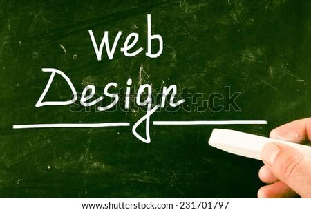 web design concept - stock photo