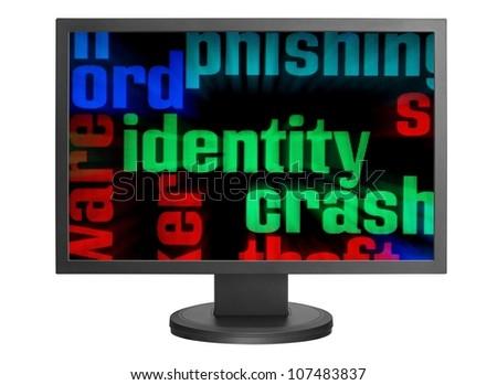 Web identity concept - stock photo