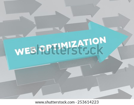 WEB OPTIMIZATION - stock photo
