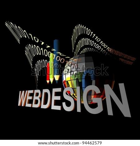 WEBDESIGN - stock photo