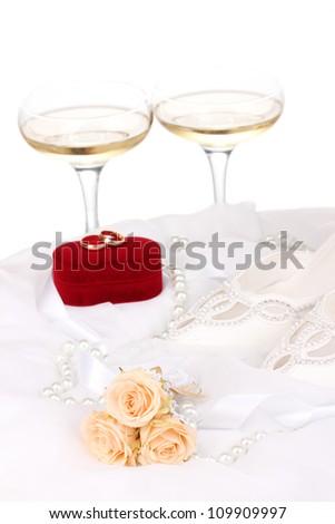 Wedding accessories - stock photo