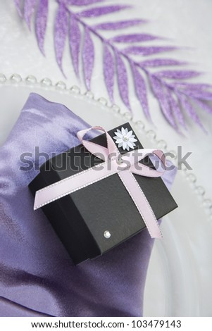 Wedding/Anniversary Gift Box - stock photo