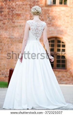 Wedding. Beautiful bride - stock photo