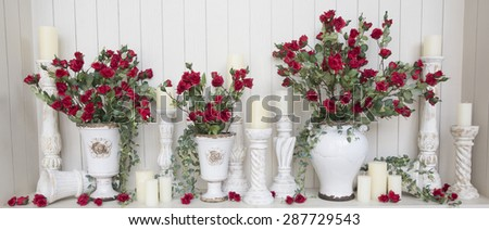 wedding decor  - stock photo