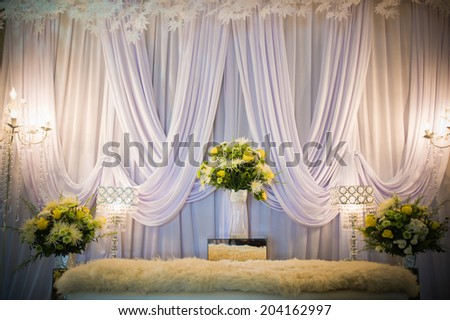Wedding Decorations - stock photo