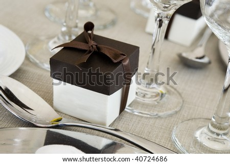 Wedding favor - stock photo