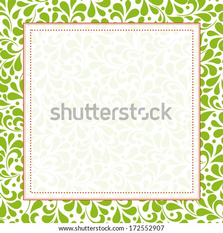 Wedding invitation card. Perfect as invitation or announcement. For vector version, see my portfolio.  - stock photo