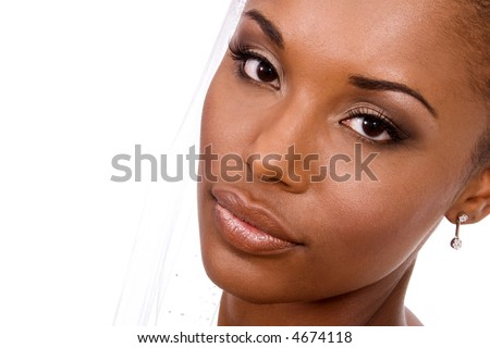 Wedding make-up. - stock photo