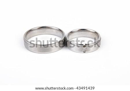 Wedding ring - stock photo
