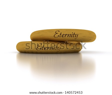 Wedding Rings - Eternity - stock photo