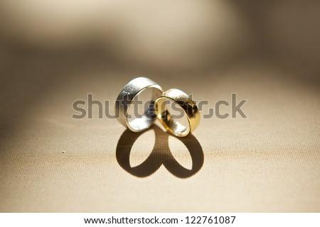 wedding table setup - stock photo