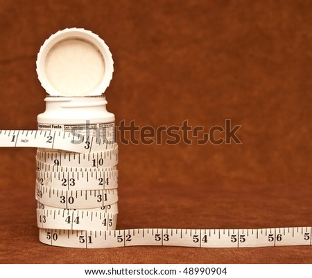 Weight Loss Supplements - stock photo