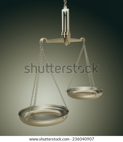 Weight scales  - stock photo