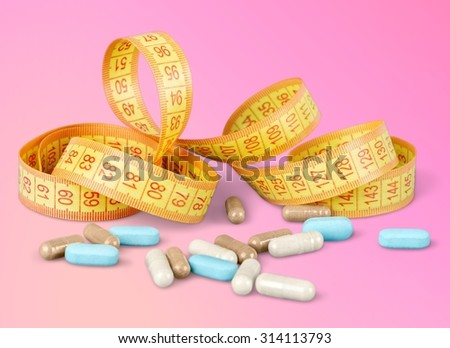 Weight supplements. - stock photo