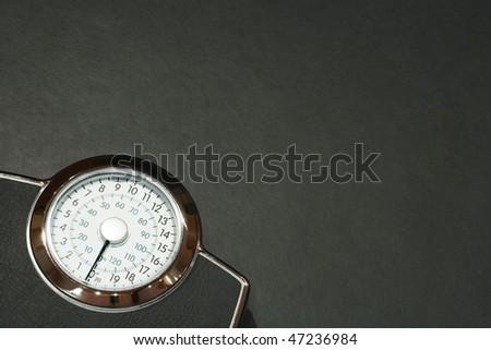 Weight watching - stock photo