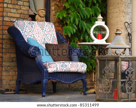 Welcome Chair - stock photo