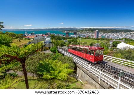 Wellington scenic view - stock photo