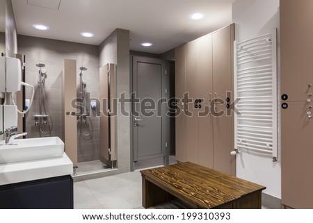 Wellness bathroom - stock photo