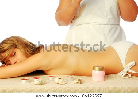 Wellness Center - In a health club for a healthy body care 420 - stock photo