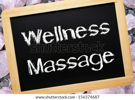 Wellness Massage - stock photo