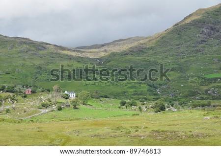 West Cork, the Beara peninsula, Ireland - stock photo