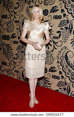 WEST HOLLYWOOD, CALIFORNIA - September 20, 2009. Anne Heche at the HBO POST EMMY Party held at the Pacific Design Center, West Hollywood, Los Angeles.   - stock photo