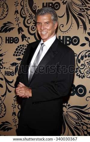 WEST HOLLYWOOD, CALIFORNIA - September 20, 2009. Michael Buffer at the HBO POST EMMY Party held at the Pacific Design Center, West Hollywood, Los Angeles.   - stock photo
