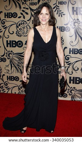 WEST HOLLYWOOD, CALIFORNIA - September 20, 2009. Sally Field at the HBO POST EMMY Party held at the Pacific Design Center, West Hollywood, Los Angeles.   - stock photo