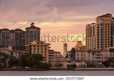West Palm Beach, Florida, United States - stock photo