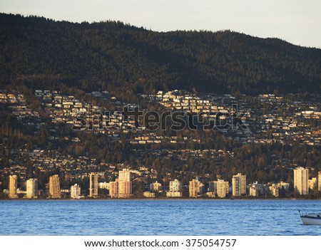 West Vancouver and British Property, British Columbia, Canada - stock photo