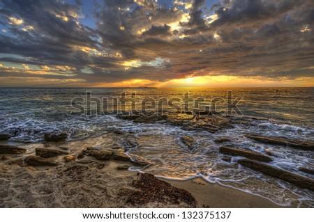 Western Australian Coastline - stock photo