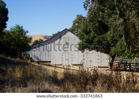 Western Barn - stock photo