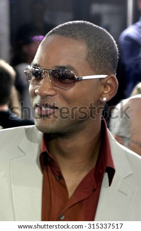 WESTWOOD, CA - JULY 07, 2004: Will Smith at the World premiere of 'I, Robot' held at the Mann Village Theatre in Westwood, USA on July 7, 2004. - stock photo