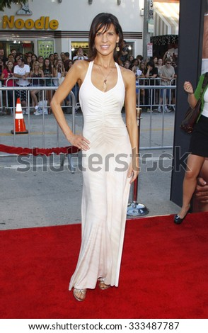 """WESTWOOD, CALIFORNIA - August 1, 2011. Perrey Reeves at the Los Angeles premiere of """"The Change-Up"""" held at the Mann Village Theater, Los Angeles. - stock photo"""