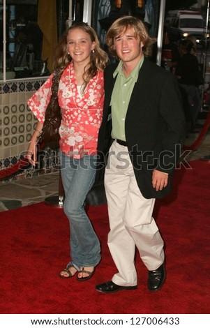 WESTWOOD - JULY 17  Haley Joel Osment and Emily Osment at the premiere    Haley Joel Osment And Emily Osment