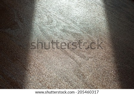Wet Varnish Texture with stripe of light. - stock photo