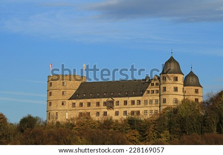 wewelsburg near paderborn - stock photo