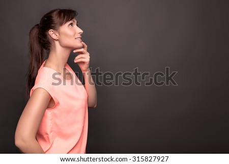 what about intensive creative female - stock photo