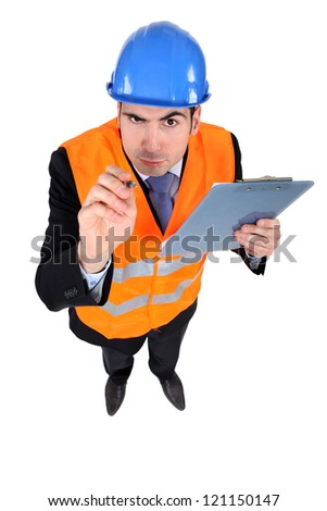 What are you looking at? - stock photo