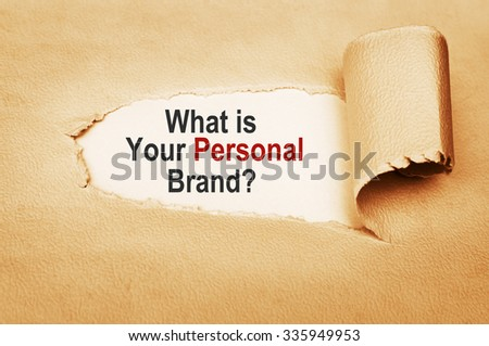 What is Your Personal Brand? - stock photo