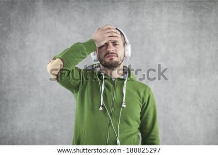 what's bad music - stock photo